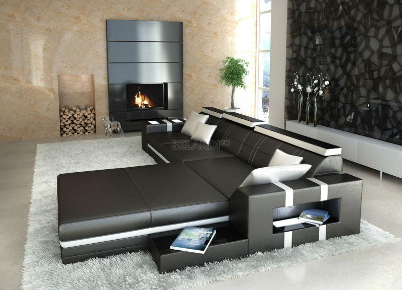 designer sofa vigo belardi buy leder sofa product on. Black Bedroom Furniture Sets. Home Design Ideas