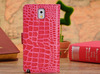 crocodile stripe mobile phone case for samsung galaxy pocket