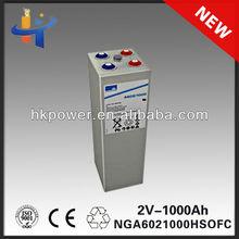 2v 1000ah battery solar sonnenschein A602/1250 2v 1000ah 2 volt deep cycle solar batteries NGA6021250HSOFC 10 OPzV 1000'