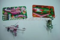 3d jigsaw model puzzle assemble plane