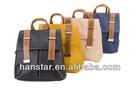 2014 New Korean Style PU Leather Vintage Women Backpack Shoulder Bag