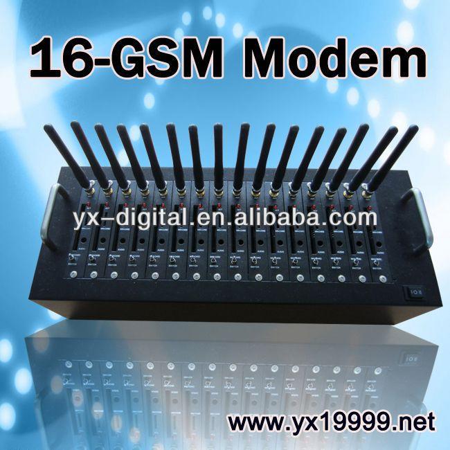 16 gsm modem sim adapter