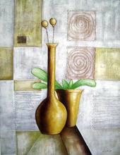 wall art-best selling ceramic flower pot painting designs