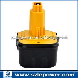 Best quality! 12V Ni-CD Battery for Dewalt 152250-27 397745-01 DC9071 DE9037 DE9071 DE9074 DE9075 DE9501 DW9071 DW9072