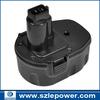 Made in Shenzhen! 14.4V Ni-CD replacement Power Tool Battery for Dewalt DC9091 DE9038 DE9091 DE9092 DE9094 DE9502 DW9091 DW9094
