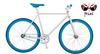 700c aluminum frame single speed colorful track road bike fixed gear bike