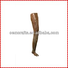 Brand new leg shaped handmade ceramic wall hangings