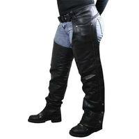 Black Men Horse Riding Leather Chaps,
