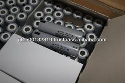 rechargeable battery NCR18650 panasonic 18650 2900mah 3.7V