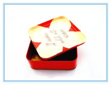 CH pretty choclate tin food packaging box