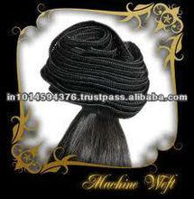 2014 Wholesale fashion Micro-ring /Loop Hair Extension human hair indian virgin temple hair for weave