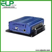 H.264 Bus/Car/Taxi/Ship HDD 4 Ch D1 Mobile DVR