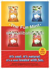 Zubi fresh mint candy