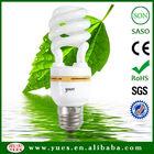 SKD/CKD Half Spiral Energy Saving Bulbs 18W 6400K