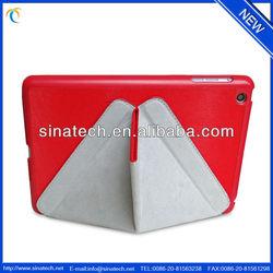 For retina iPad mini smart cover,folded stand case,slim case.