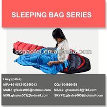 fluffy sleeping bag