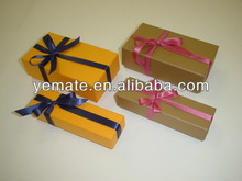 2013 Most Popular Newest Gift Packaging Box Walmart Gift Boxes with Ribbon Bow Paper Dry Fruit Gift Box