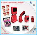 Partido& de la boda& eventos al aire libre de entretenimiento plegable de la máquina de cabina de fotos para el alquiler