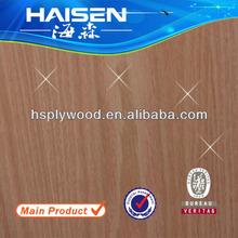 HS-RO33 red oak lumber door skin plywood