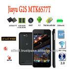 jiayu G2S Android 4.1 MTK6577T Cortex A9/4.0 Inch QHD IPS Screen 1GB RAM 3G/GPS/AGPS/8.0MP Camera Dual Core 1GHz Wifi Phone