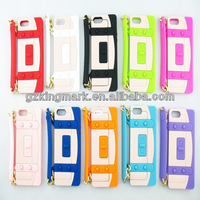 """For iPhone 5"""" Case Accessory Soft Silicone Handbag for iphone5"""