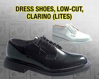 DRESS SHOES, LOW-CUT, CLARINO (LITES)