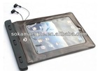 pvc waterproof ipad pouch bag / i pad case pvc waterproof case for i pad