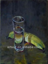 paintings of glasses realistic still life