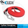 Non-slip belt red color dog leash SKL30