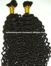 En vrac Curly Extension de cheveux