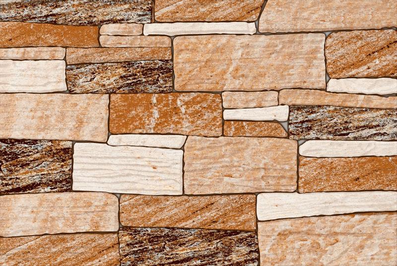 Wall Tiles Design For Elevation : Digital glossy elevation tiles buy black tile
