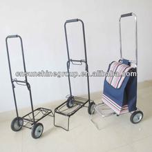 Folding shopping trolley cart- Metal Construction - Lightweight Travel Trolley