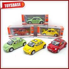 1:24 Pull Back Die Cast Beetle Car Toy
