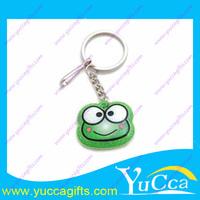 bbig eye character frog plastic animal custom key chain