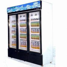 tripple door upright freezer