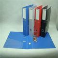 Fábrica arquivo pasta com fecho de botão / a4 tamanho pasta de anel / pp pasta de anel