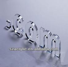 acrylic letter/clear acrylic letter
