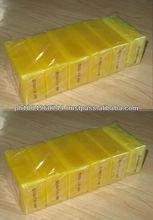 12 LEMON Anti Acne Soap Anti Pimple Yellow Soap