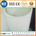 De color blanco puro no- porosos panel de cristal cristalizado de la columna