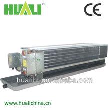 central de ar condicionado canalizado fan coil unidade funcionando com água