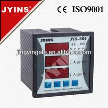 AC digital led panel meter digital electric meter works (JYS-6S4)