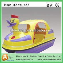 new products hot sale low cost high effective Water Hand Powered Boat pedal boat