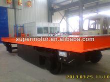heavy loading electric railway transport vehicle
