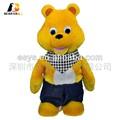 venta al por mayor de China, juguetes de los animales de peluche con rellenos importados, juguete electrónico