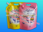 Stand pouch, Laundry liquid detergent bag,