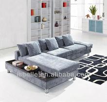 LGS-05 sofa set designs purple sectional sofa