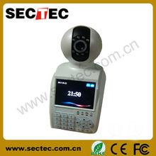push video IP camera+video phone+recorder+alarm