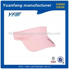 custom wholesale sun visor cap