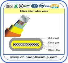 PVC/LSZH sheath Best Price For Ribbon Fiber Optic Cable Price Per Meter