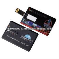 Credit Card Shaped USB Drives